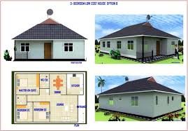 3 bedroom low cost house plans home design home design