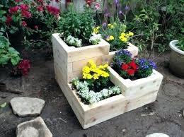 Tiered Garden Ideas Three Tier Garden Planter 8 Kitchen Bonanza Part 3 Tiered Copper