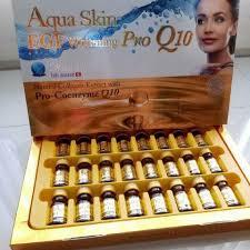 aqua skin egf gold aqua skin egf whitening pro q10 injection usage others rs 6000