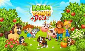 download game farm village mod apk revdl town happy city day story 2 22 download apk mega mod android
