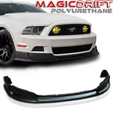 mustang rtr 2014 2013 2014 ford mustang rtr style urethane front bumper chin lip