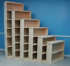 Unfinished Furniture Bookshelves by Quality Wood Furniture Unfinished Bookcases Leesville Louisiana