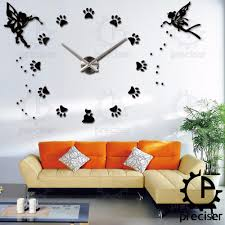 kitchen clocks modern dog wall clocks promotion shop for promotional dog wall clocks on