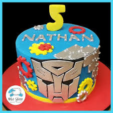 transformer cakes transformers birthday cake blue sheep bake shop