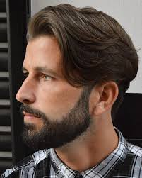 side swept boys hairstyles hairstyles for men with long hair 2018
