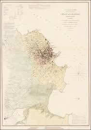 Arizona Map Of Cities by City Of San Francisco And It U0027s Vicinity 1853 Barry