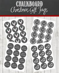 chalkboard christmas gift tags creative cain cabin
