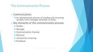 chapter 17 communication and interpersonal skills ppt download