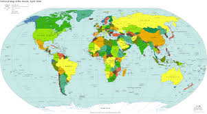 Large World Map Canvas by Large Map Canvas My Blog