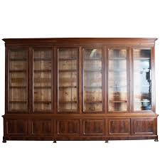 grand french 19th century louis philippe mahogany bibliotheque