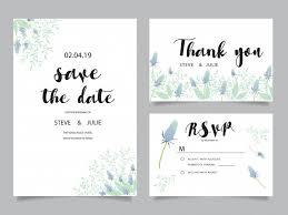 thank you cards wedding wedding invitation cards thank you card wedding stationery vector