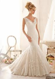 mori bridal embroidered lace appliques on net with wide hemline morilee bridal