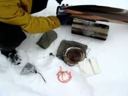 Diy Tent Wood Stove Proto 1 Youtube - vortex cylinder stove youtube