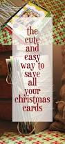 how to save your christmas cards honeybear lane