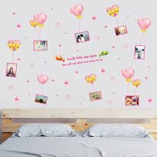 Reusable Wallpaper by Toko Online Dinding Stiker Romantis Hati U0026 Bingkai Foto Removable