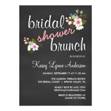 chagne brunch invitations bridal shower brunch invitations announcements zazzle