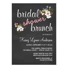 bridal shower brunch invites bridal shower brunch invitations announcements zazzle