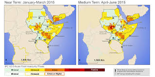 Horn Of Africa Map by East Africa Food Security Outlook Update Wed 2015 04 01