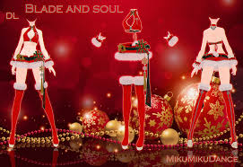 mmd blade and soul christmas download dl by milionna on