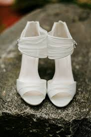 wedding shoes ny timeless white peep toe wedding shoes lev kuperman photography