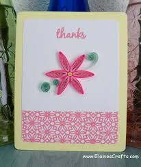 letterpress card with paper quilling tutorial cards paper