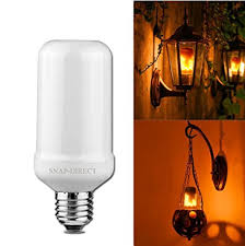 why led light bulbs flicker led flickering flame bulb creative lights with flickering emulation