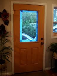 fiber glass door why hello there american walnut