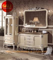 wholesale custom solid wood bathroom vanities 4 drawer white