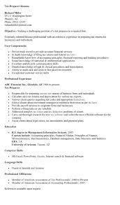 Sample Resume Language Skills by Tax Preparer Resume Sample Experience Resumes