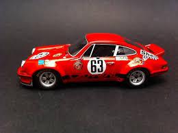 1973 rsr porsche porsche 911 carrera rsr le mans 1973 n 63 1 43 spark s3398