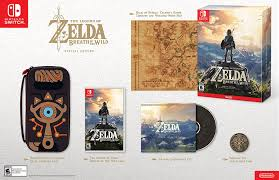 amazon scalpers selling new nintnedo 3ds black friday breath of the wild special edition on nintendo switch back in