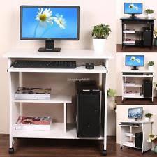 Compact Computer Desks For Home Computer Desk Wheels Ebay