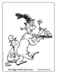 Green Eggs And Ham Coloring Page Free Download Green Coloring Page
