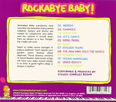 Second Hand Children S Clothing Los Angeles Rockabye Baby Rockabye Baby Lullaby Renditions Of David Bowie