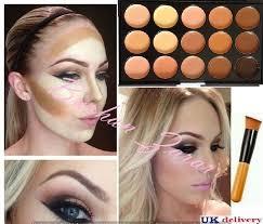 Makeup Contour 15 colors concealer kit palette with brush makeup contour