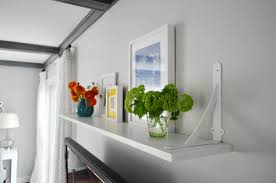 Cheap Shelves For Wall by A Cheap U0026 Easy Shelf For That Blank Spot Over The Tv Young House