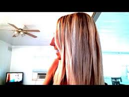 where to place foils in hair easy highlight own hair with foils youtube