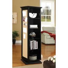 hollywood mirrored bookcase wayfair