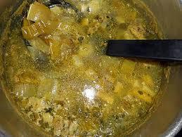 cuisiner les verts de poireaux recette de velouté de vert de poireaux