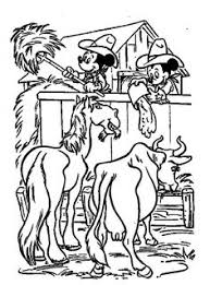 printable mickey mouse cowboy coloring pages printable coloring