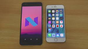 nexus 6p android n vs iphone 6s ios 9 3 speed test 4k youtube