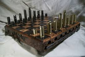 Futuristic Chess Set Steampunk Inspired Chess Sets Steampunk Inspired