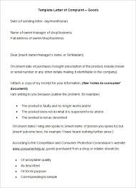 brilliant ideas of template letter complaint faulty goods in