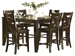 7 piece counter height dining room sets pub height dining room tables crown point 7 piece counter height