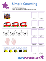 math counting worksheet counting worksheets guruparents