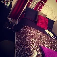 cheetah bedrooms bedroom or living room black dark red and cheetah color