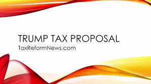 trump tax proposal 2017 tax reform youtube