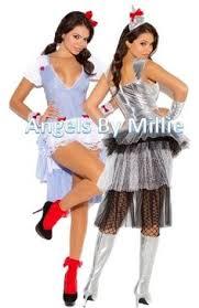 Tin Woman Halloween Costume Wizard Oz Dorothy Halloween Costume Xl Women Kansas Cutie