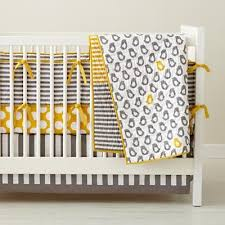 Black And Yellow Crib Bedding Flower Power Baby Bedding Crib Bedding Berkshire Bedding