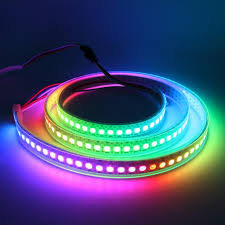 led ribbon aliexpress buy 1m ws2812 144leds m rgb led white pcb